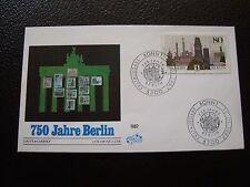 ALLEMAGNE (rfa) - enveloppe 1er jour 15/1/1987 (B8) germany