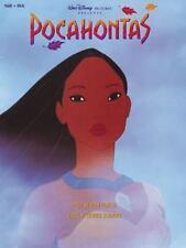 Alan Menken: Pocahontas - Vocal Selections. Partitions pour Piano, Chant et Gui