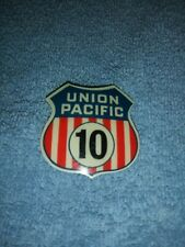 UNION PACIFIC RAILROAD DINING CAR WAITERS BADGE