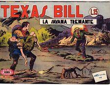 ALBO MICNON VICTORY TEXAS BILL ORIGINALE ANNO 1948 NUMERO 54