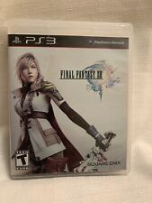 Final Fantasy XIII PlayStation 3 PS3 Game Case Booklet