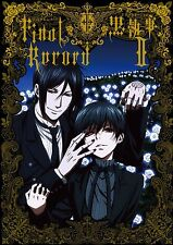 "JAPAN Kuroshitsuji II / Black Butler II The Animation Art book ""Final Record"""