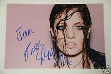 Jess Glynne SIGNED 20x30cm PHOTO AUTOGRAFO/Autograph in persona estremamente RAR!!!