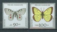 BRD Briefmarken 1991 Schmetterlinge Mi.Nr.1517+1518** Postfrisch