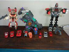 Vintage Takara & Bandai Transformers Transforming Robot Toys Lot Group Japan 80s