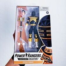 New listing Zeo Gold Power Rangers Lightning Collection Action Figure *Ready To Ship