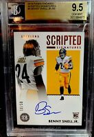 2019 Scripted Signatures RC Benny Snell JR Auto Bgs 9.5/10 /50