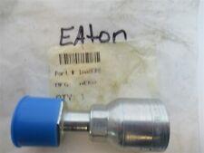 Eaton, 1AA8FR8, Hydraulic Hose Fitting,Crimpable,Straight,Female ORS