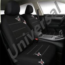 Stickerei Auto Sitzbezug Set Butterfly Schmetterling Logo Abwaschbar Sitzbezüge