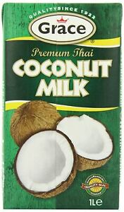 Grace Premium Coconut Milk 1 Litre pack of 12