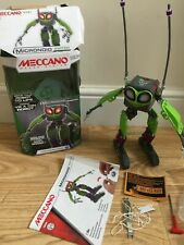 MECCANO Maker System 16405 MicroNoid Switch Interactive Programmable Robot Green