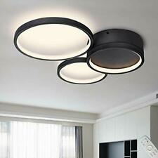 Flush Mount Ceiling Light Fixture, Dimmable LED Ceiling Lighting with