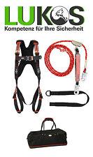 PSA Auffanggurt Dachdecker Set komplett ABS  mit 5m Verbindungsmittel Seilkürzer