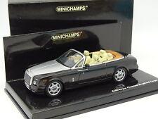 Minichamps 1/43 - Rolls Royce Phantom Drophead Cabriolet Noire et Grise