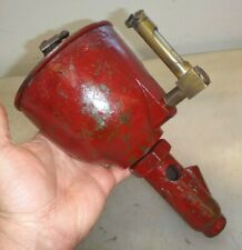 Cast Iron Oil Field Engine Oiler Very Nice for Old Hit and Miss Gas Engine