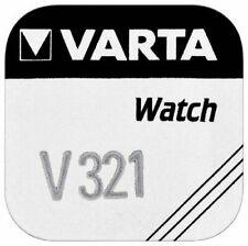 Varta V321 1,55V Oxyde d'Argent Pile Bouton