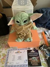 Build A Bear The Child Star Wars The Mandalorian Baby Yoda w/ 5-in-1 FREE SHIP