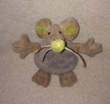 Old Navy ONSCO Mouse Lovey Baby Plush Bean Bag Rodent OPossum Toy 10""