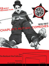 Chaplin's Mutual Comedies - 5 DISC SET (Blu-ray New)