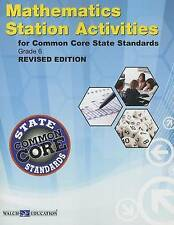 Ccss Station Activities for Grade 6, Revised Edition by Walch (Paperback /...