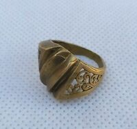 EXTREMELY ANCIENT ROMAN ANTIQUE RING BRONZE ARTIFACT VERY STUNNING RARE TYPE
