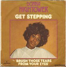"DONNA HIGHTOWER ""GET STEPPING"" RHYTHM & BLUES BOPPER 70'S SP MERCURY 6061 675"