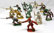 Vintage Cherilea Cavaliers and Roundheads. x 13. Toy Soldiers.