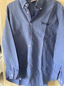 triumph Blue Shirt Genuin XL