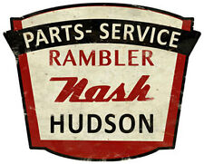 Rambler Nash Hudson Dealer Sign
