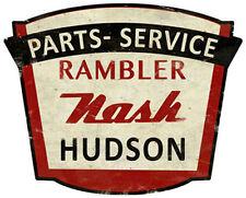 Rambler Nash Hudson Dealer Sign