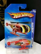 2009 HOT WHEELS CITY WORKS KILLER COPTER NEWS HELICOPTER - A26