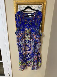 Camilla Silk Pocket Skirt/dress One Size