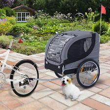 Hundeanhänger Fahrradanhänger Hunde Anhänger Fahrrad Anhänger 130x90x110cm Neu