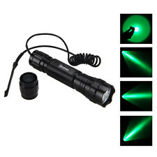 5000lm Green/Red/Blue/White T6 LED Tactical Flashlight Torch Hunting Light 501B