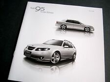 SAAB 95 TURBO EDITION - 2008 UK BROCHURE. Saloon / Sportwagon 9-5