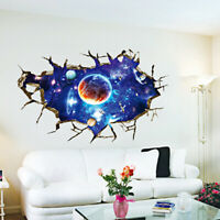 3D Wall Sticker Diy Outer Space Milky Way Wall Decor House Kids Room Decorati Dz