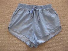 Ladies Supre Blue Cotton Shorts Size 6