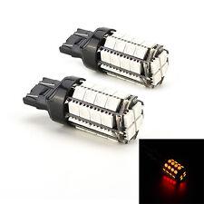 2 Pcs Car LED Light 7443 7440 T20 36SMD 5050 Red Tail Brake Light Bulbs Hot HU