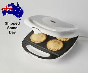 NEW Pie Maker Machine Appliance Electric Cooker - Non Stick - 4 Pie Slots