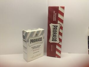 PRORASO Shaving Cream + After Shave
