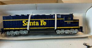 HO Athearn BB Kit Santa Fe Freight SDP-40 Diesel Loco #93 NIB 4105 Powered ME-92