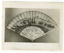 Vintage Chinese Fan - Empress of China, 1784 - Vintage 8x10 Photograph