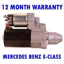 MERCEDES BENZ E-CLASS 2009 2010 2011 2012 2013 2014 2015 RMFD STARTER MOTOR
