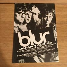 Rare!Blur Arrival flyer for Japan flyer blur Demon Alburn of the 1992 Japan Tour