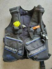 Scubapro BCD Scuba Buoyancy Compensator Vest Size Medium