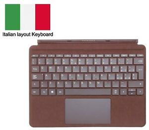 Microsoft Red Signature Type Cover Italian Keyboard for Surface Go Tablet