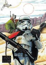 Star Wars Galaxy 2018 BASE Trading Card #29 / TATOOINE TROOPERS