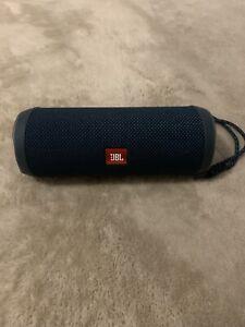 JBL Flip 4 Portable Speaker - Blue/Navyblue