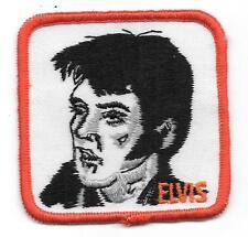 Elvis Presley Orange 3 Inch Vintage Square Patch