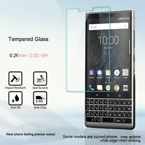 2x BlackBerry KEYone 2 Q20 Priv DTEK50 Q10 Motion Z10 Z30 Schutzglas Panzerfolie